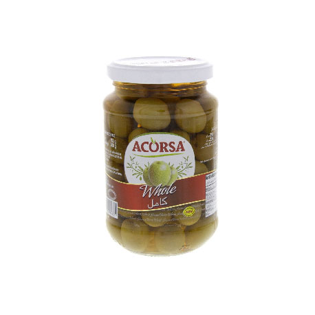 ACORSA GREEN OLIVES 575GR