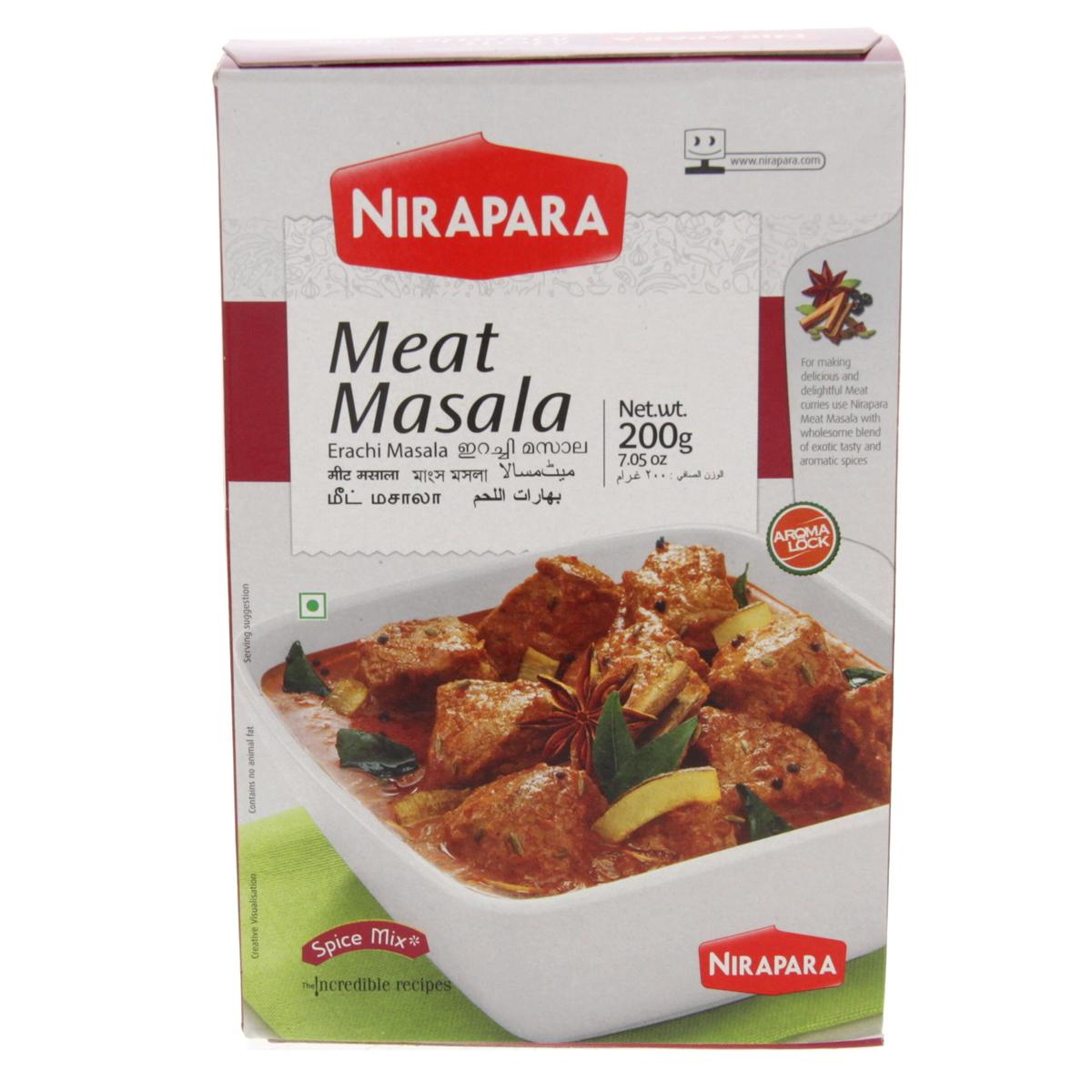 NIRAPARA MEAT MASALA 200 GR