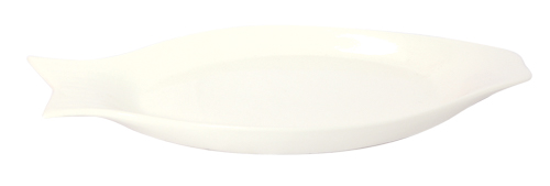 Elliptical Ceramic Plate 3*17*39 CM