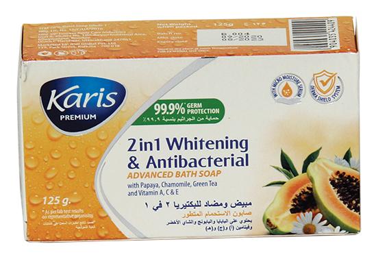 KARIS ADVANCED BATH SOAP WITH PAPAYA 125GR