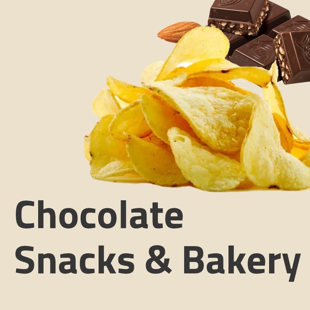 Chocolate ,Snacks & Bakery
