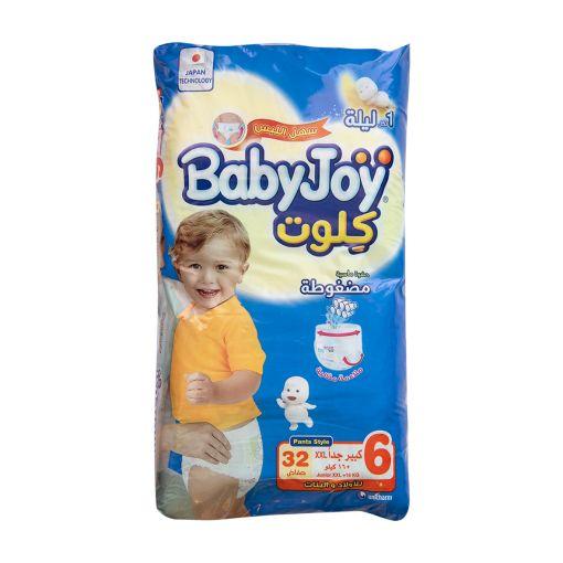 BABY JOY CULOTTE XXL  32 pcs