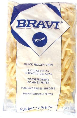 BRAVI FRENCH FRIES 2.5 KG
